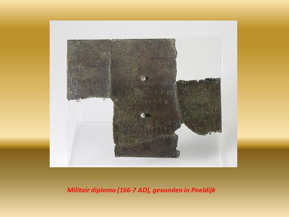 Militair diploma (166-7 AD), gevonden in Poeldijk