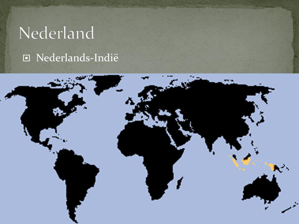 Nederland Nederlands-Indië