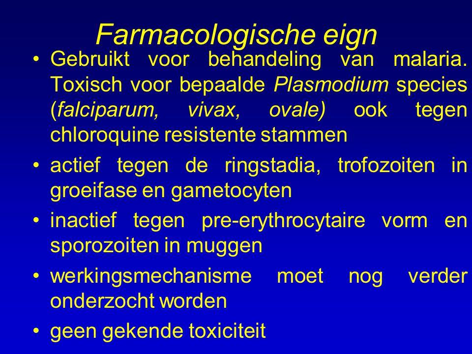 Farmacologische eign