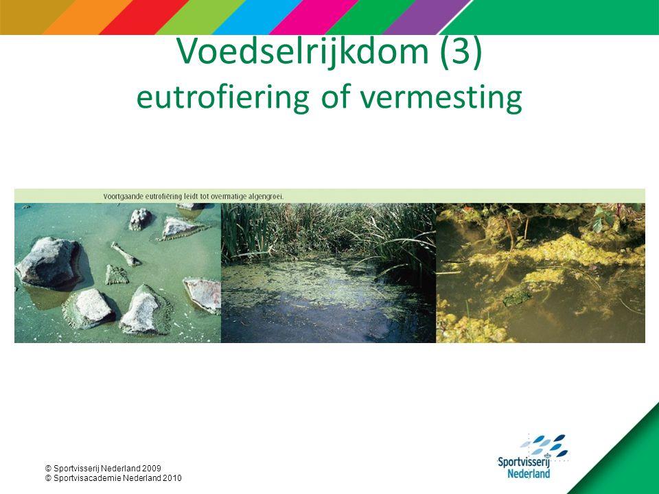 Voedselrijkdom (3) eutrofiering of vermesting