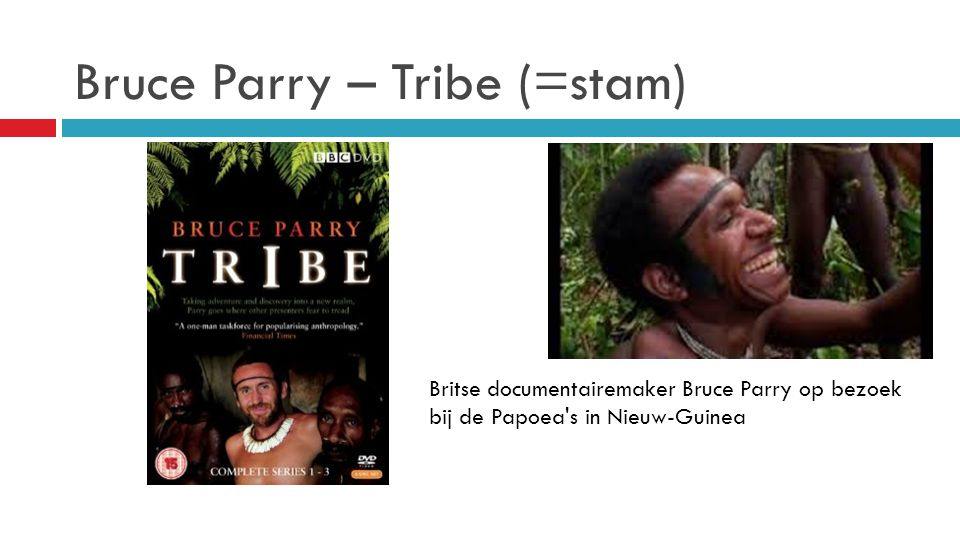 Bruce Parry – Tribe (=stam)