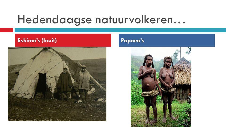 Hedendaagse natuurvolkeren…