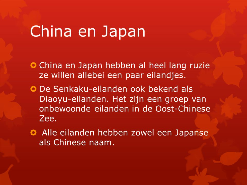 bekend eten china