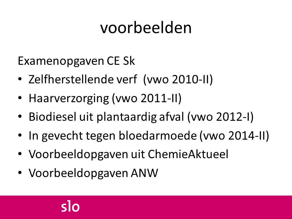 voorbeelden Examenopgaven CE Sk Zelfherstellende verf (vwo 2010-II)