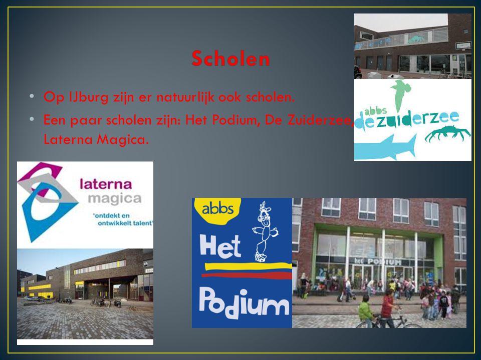 Scholen Op IJburg zijn er natuurlijk ook scholen.