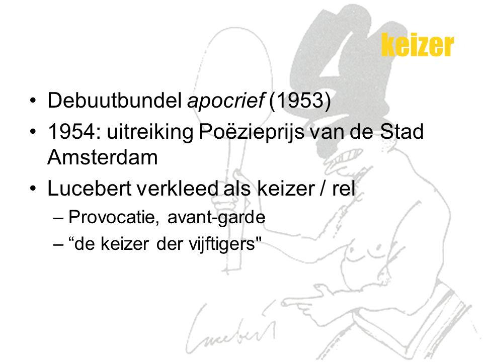 keizer Debuutbundel apocrief (1953)