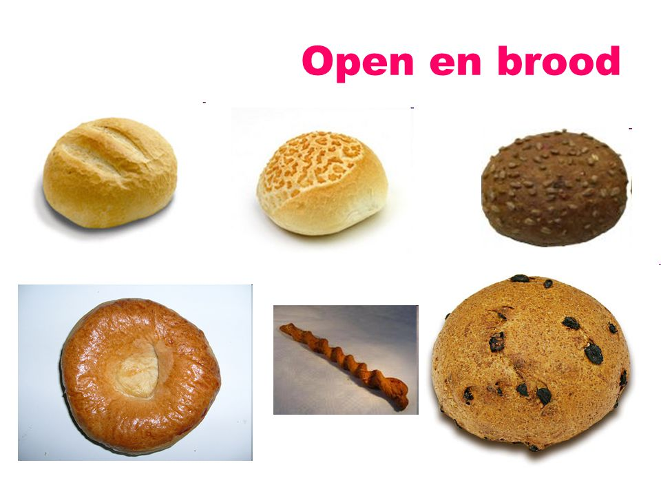 Open en brood