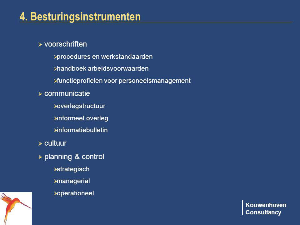 4. Besturingsinstrumenten