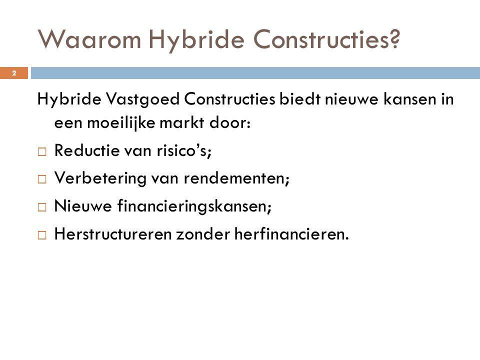 Waarom Hybride Constructies