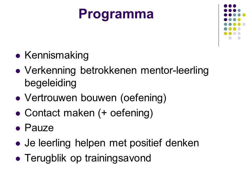 Programma Kennismaking