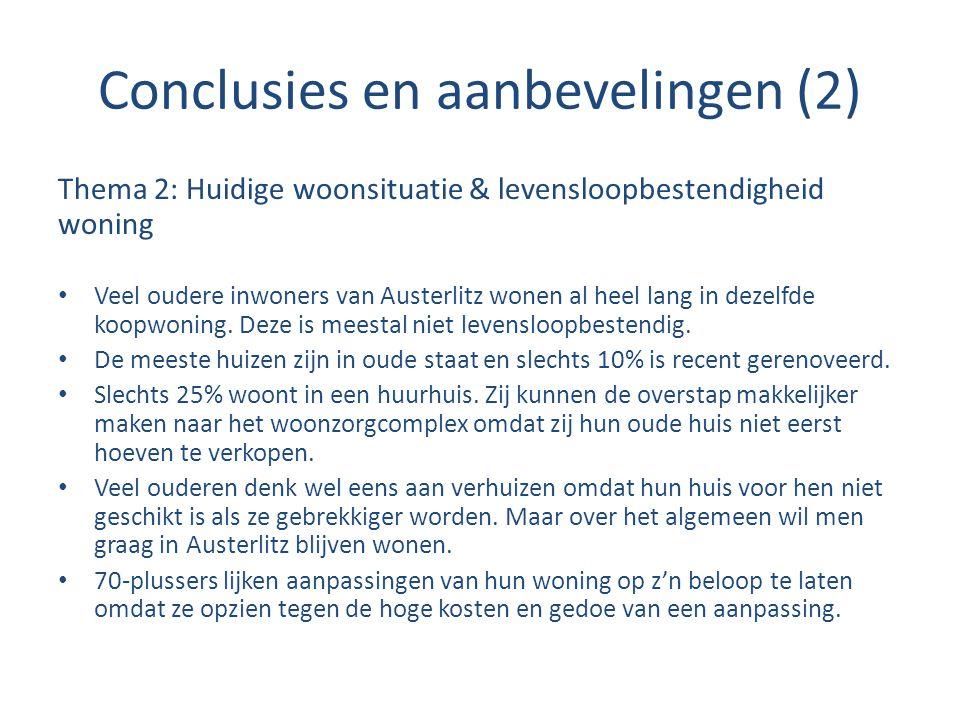 Conclusies en aanbevelingen (2)