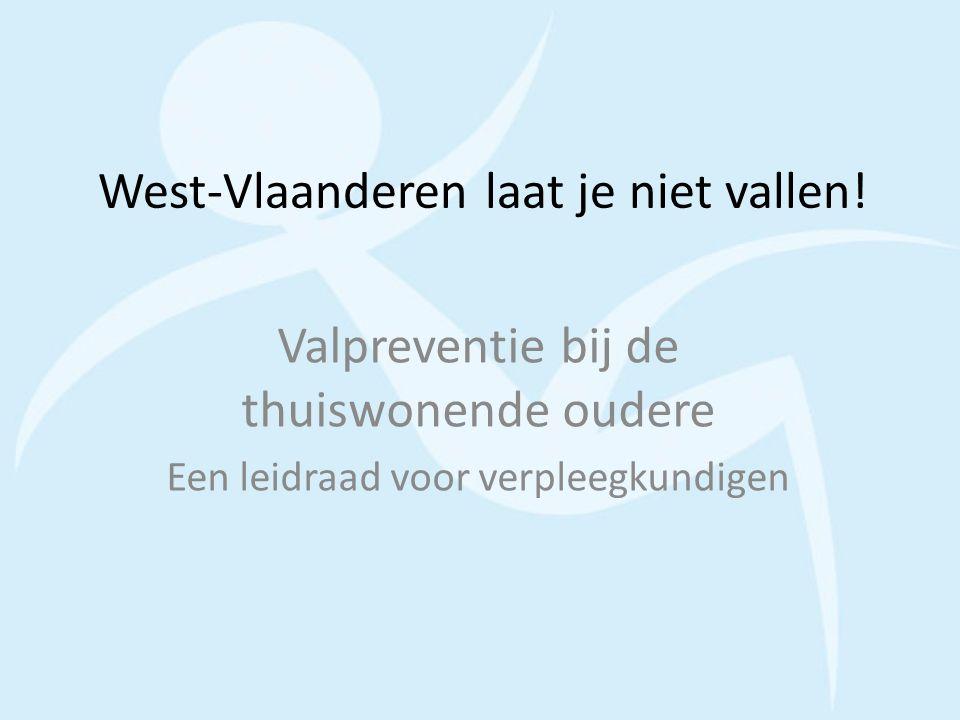 West-Vlaanderen laat je niet vallen!