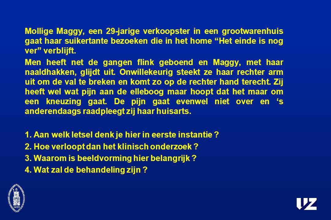 Mollige Maggy, een 29-jarige verkoopster in een grootwarenhuis gaat haar suikertante bezoeken die in het home Het einde is nog ver verblijft.