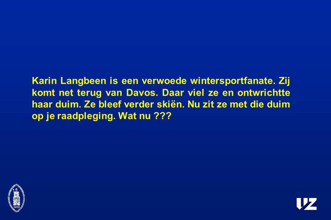 Karin Langbeen is een verwoede wintersportfanate