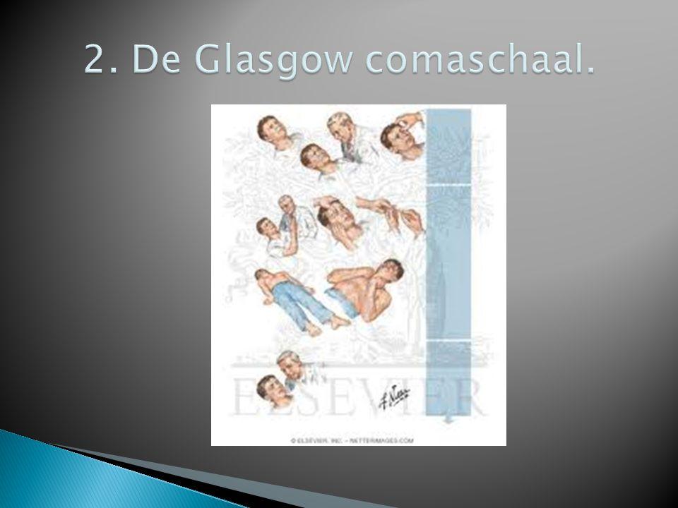 2. De Glasgow comaschaal.
