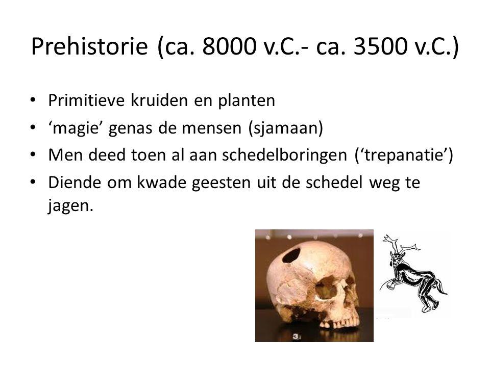 Prehistorie (ca. 8000 v.C.- ca. 3500 v.C.)