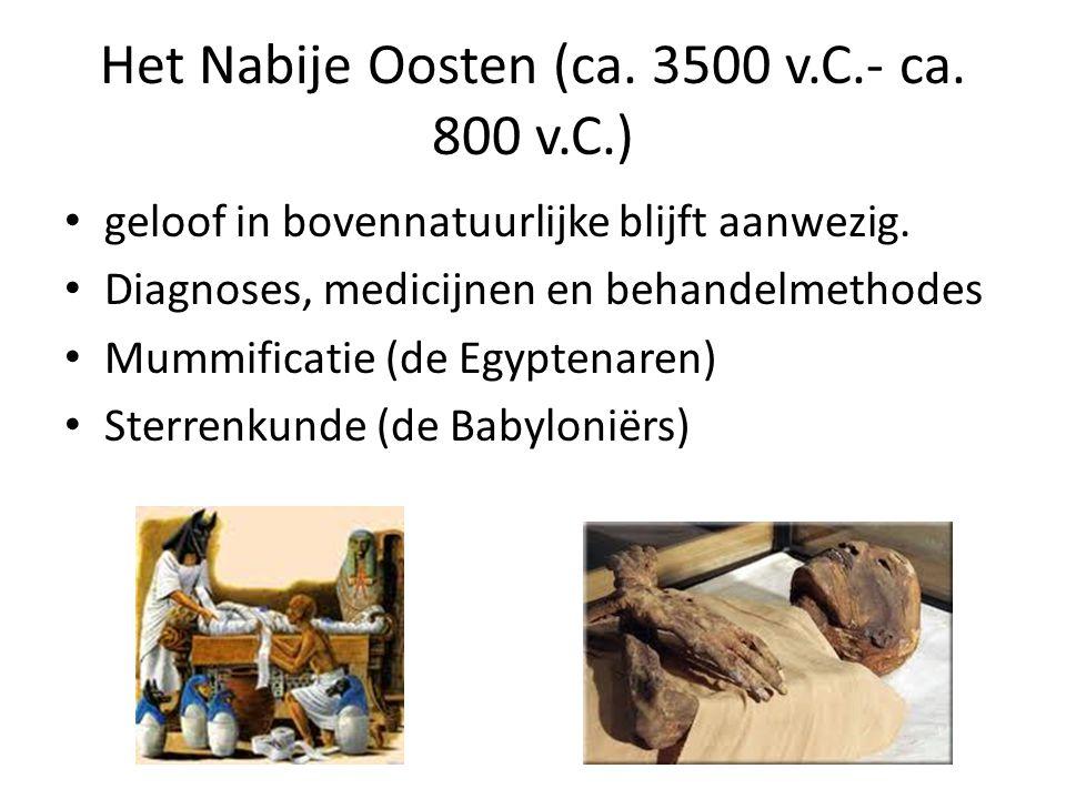 Het Nabije Oosten (ca. 3500 v.C.- ca. 800 v.C.)