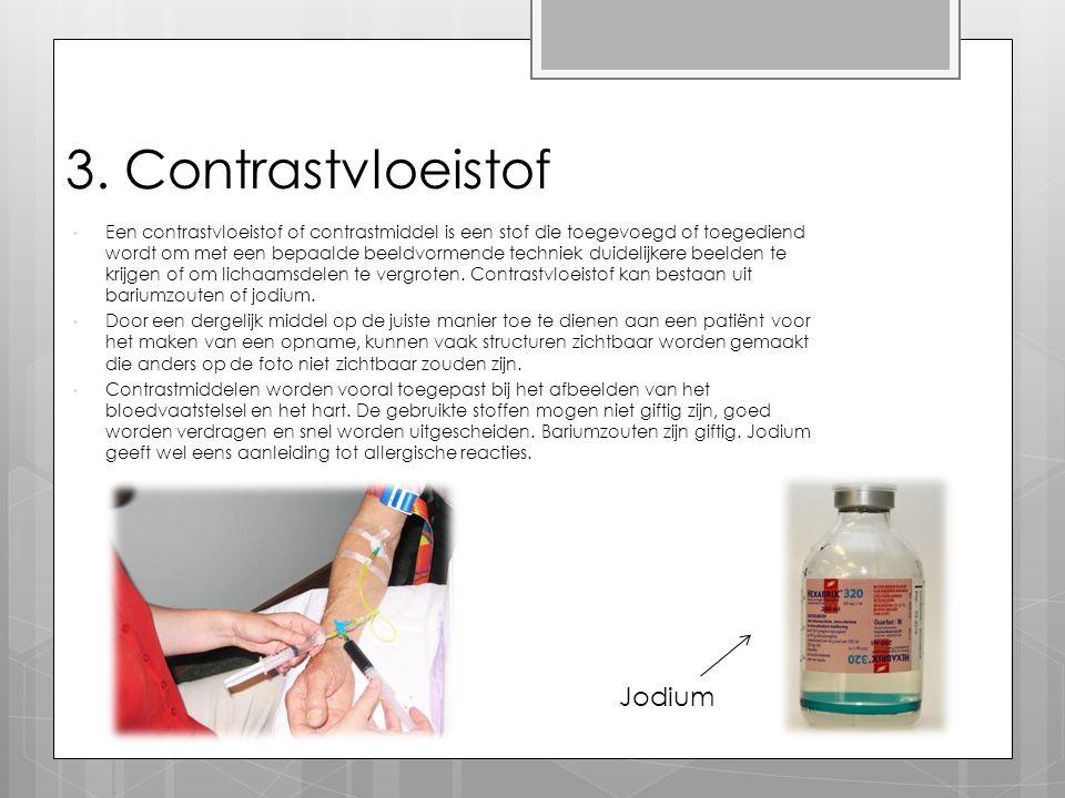 3. Contrastvloeistof Jodium