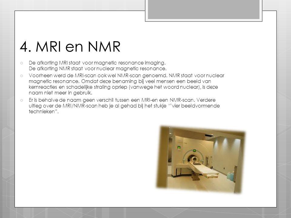 4. MRI en NMR