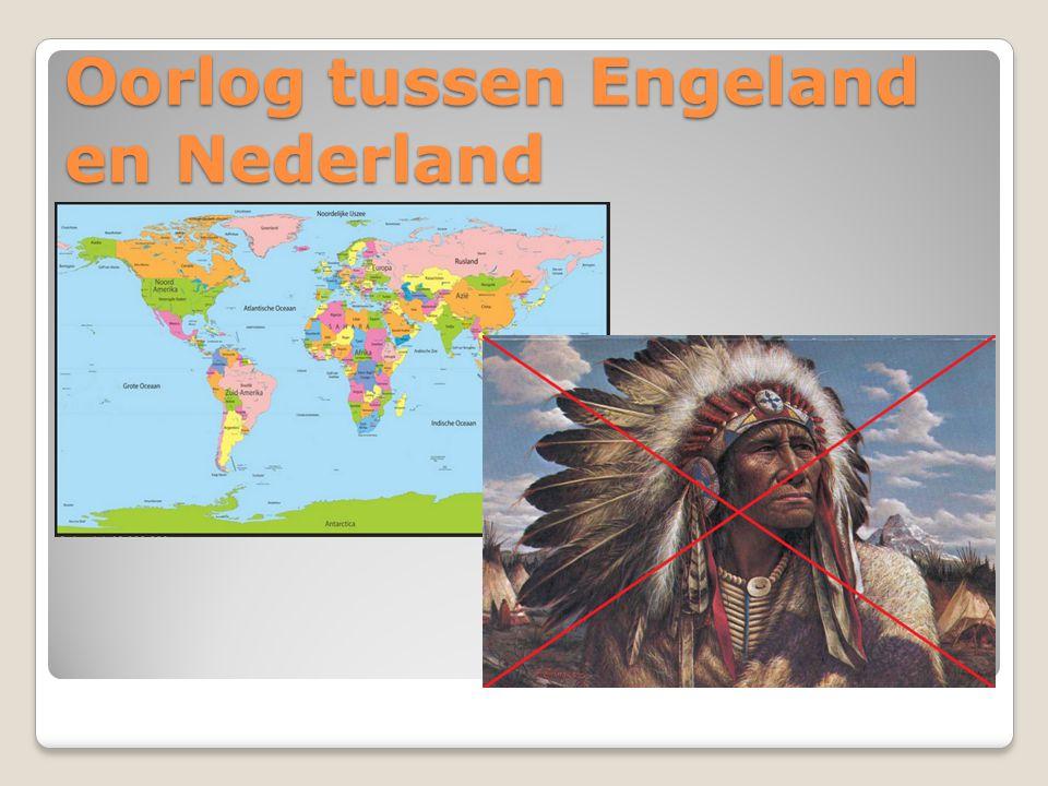 Oorlog tussen Engeland en Nederland