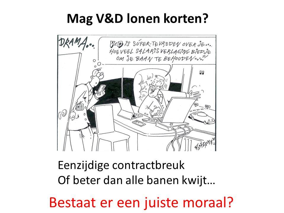 Bestaat er een juiste moraal