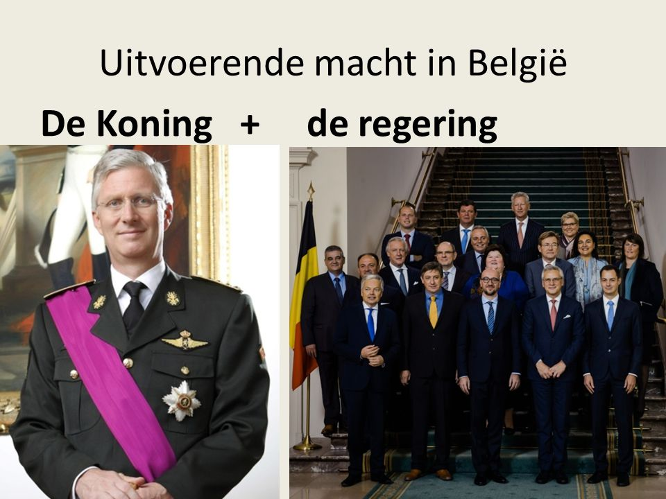 Uitvoerende macht in België