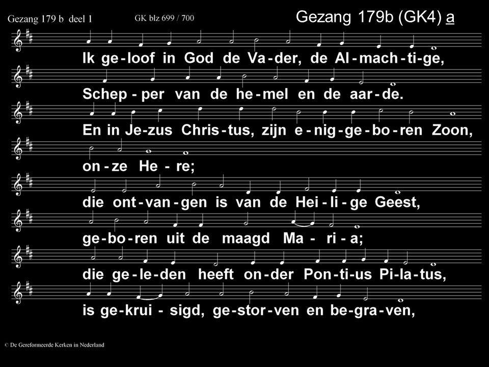 Gezang 179b (GK4) a