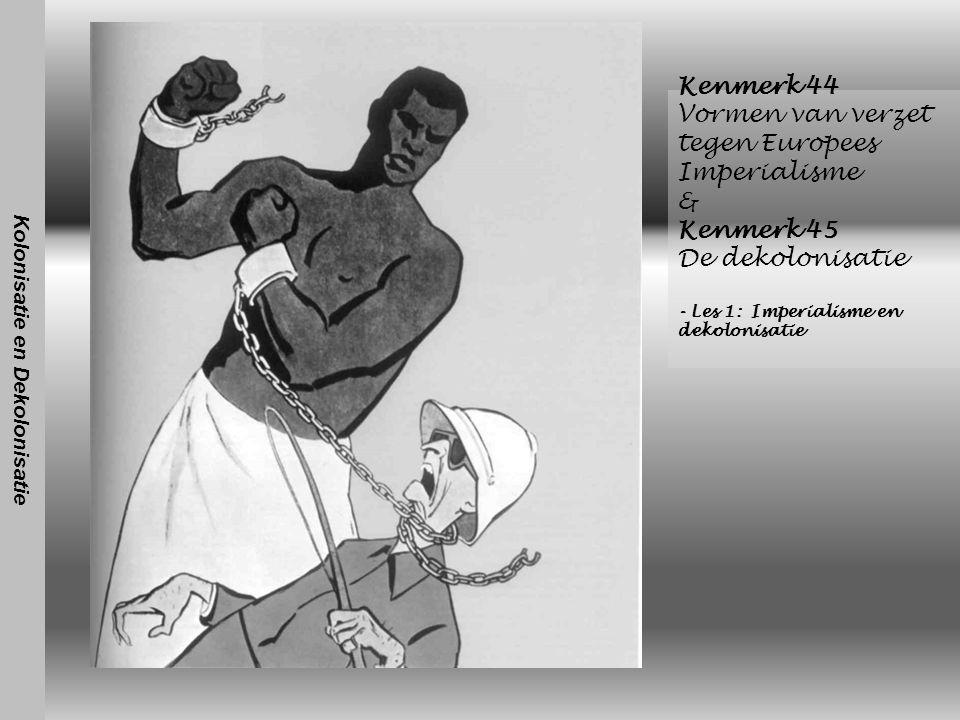 Kolonisatie en Dekolonisatie