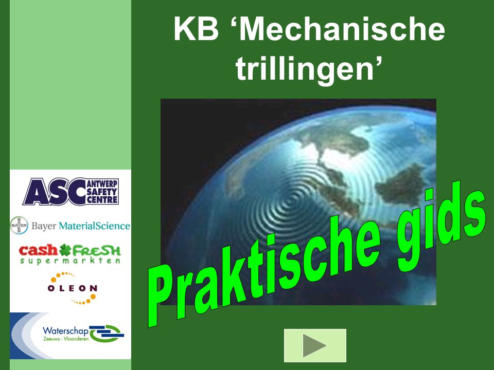 KB 'Mechanische trillingen'
