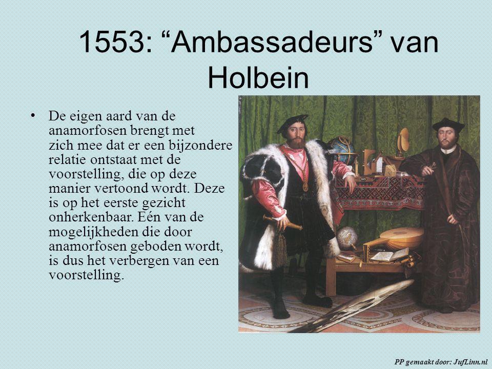 1553: Ambassadeurs van Holbein