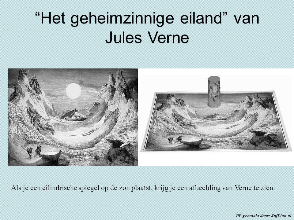 Het geheimzinnige eiland van Jules Verne