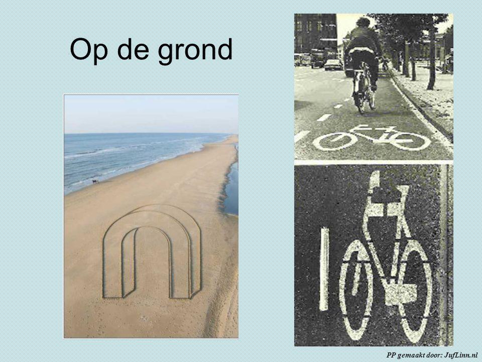 Op de grond PP gemaakt door: JufLinn.nl