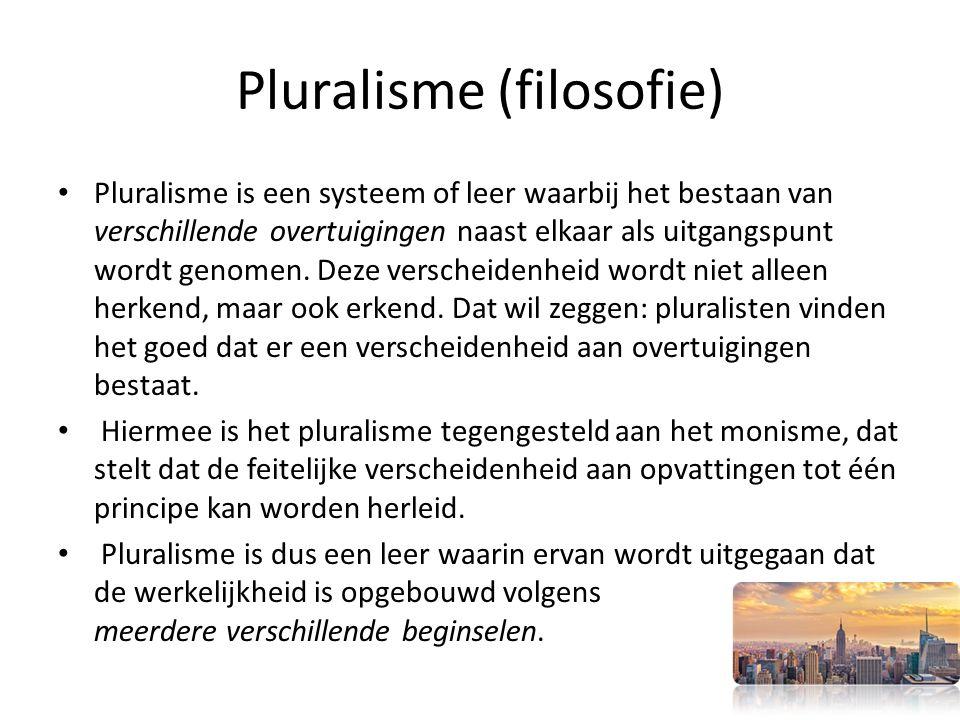 Pluralisme (filosofie)