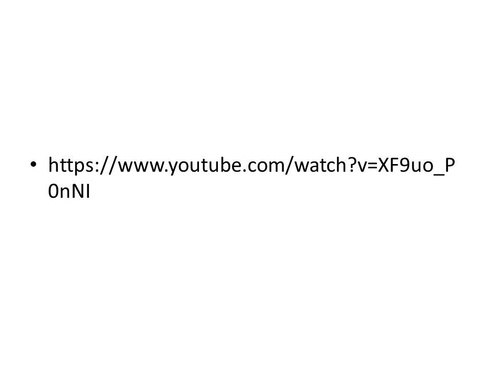 https://www.youtube.com/watch v=XF9uo_P0nNI