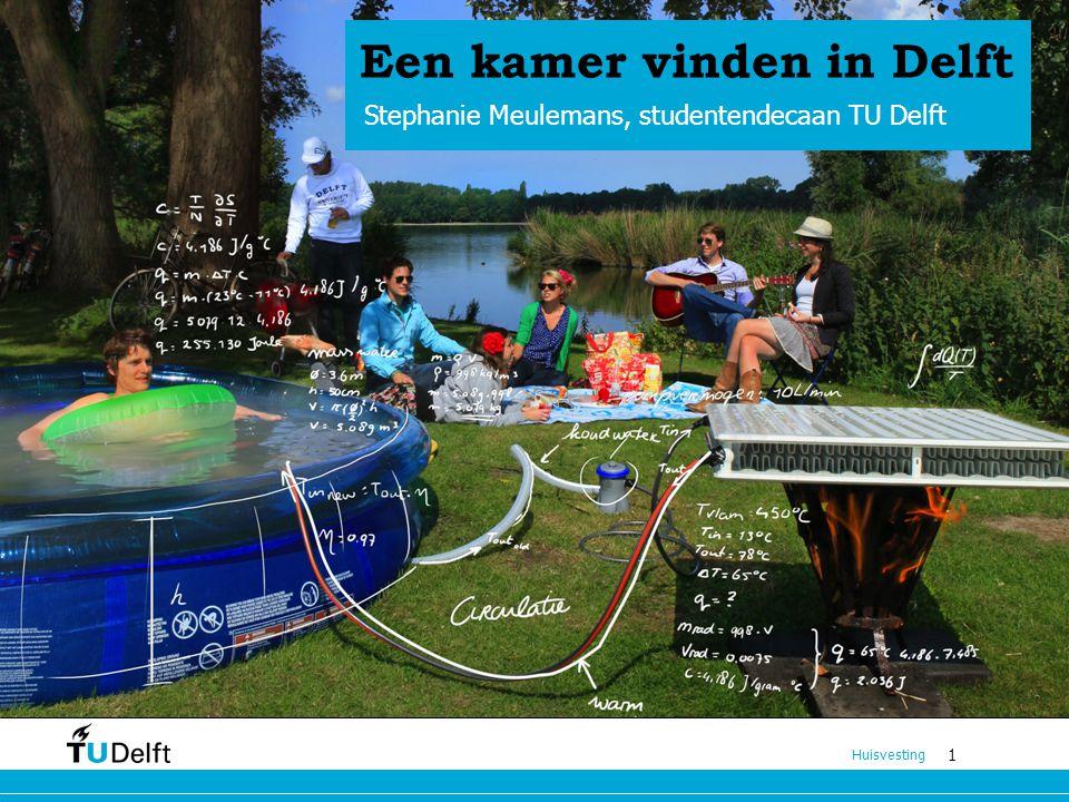 Een kamer vinden in Delft