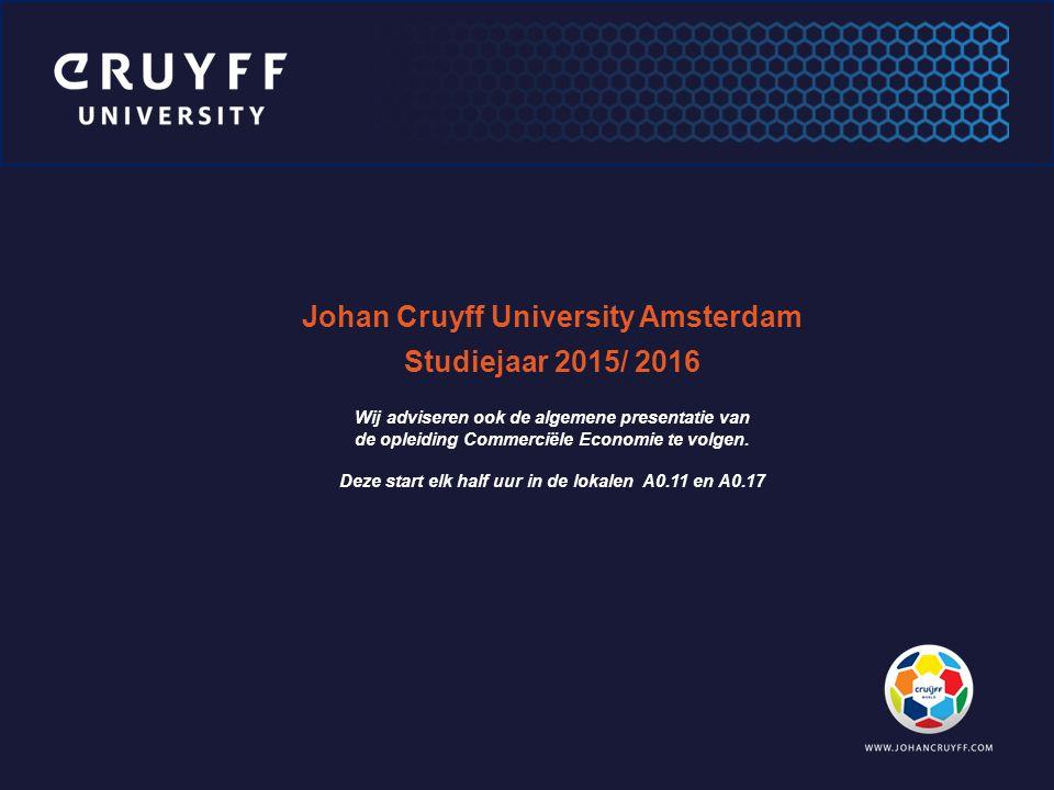 Johan Cruyff University Amsterdam