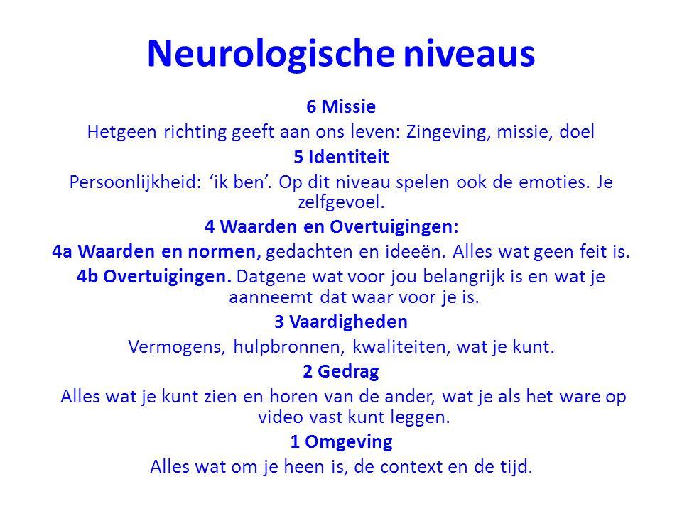 Neurologische niveaus