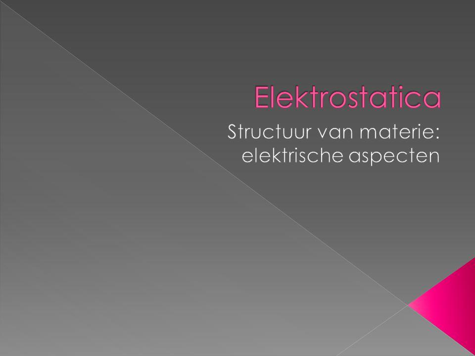 Structuur van materie: elektrische aspecten