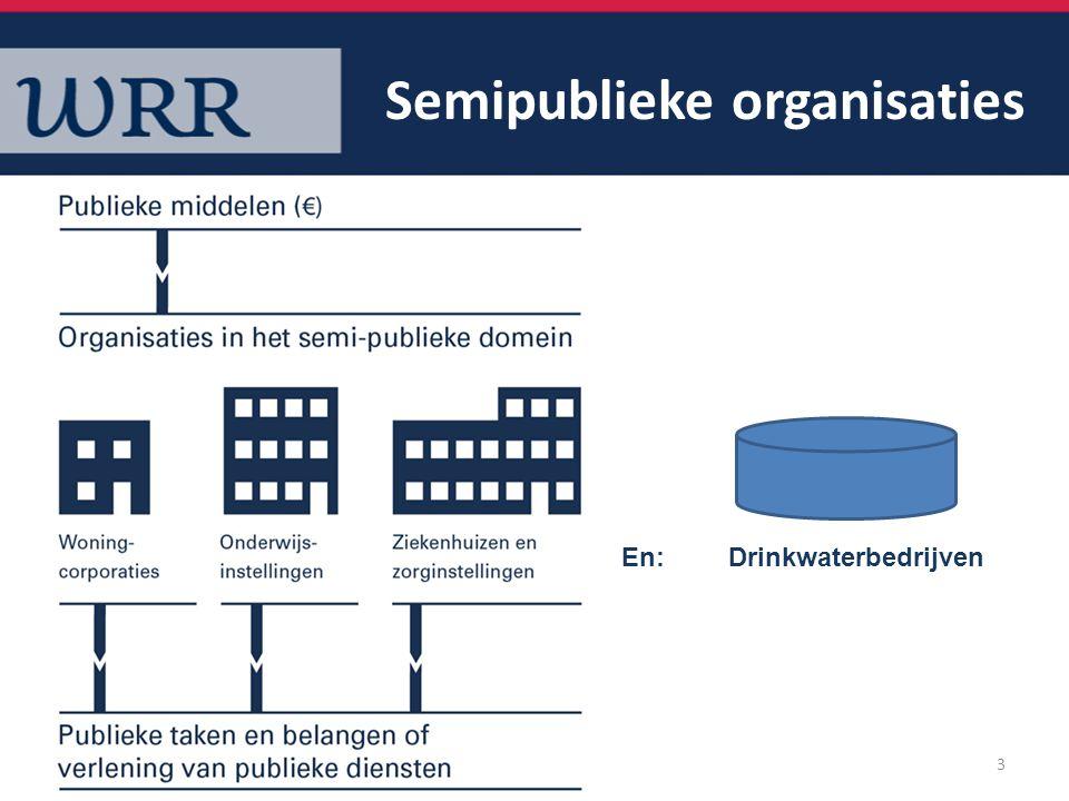 Semipublieke organisaties
