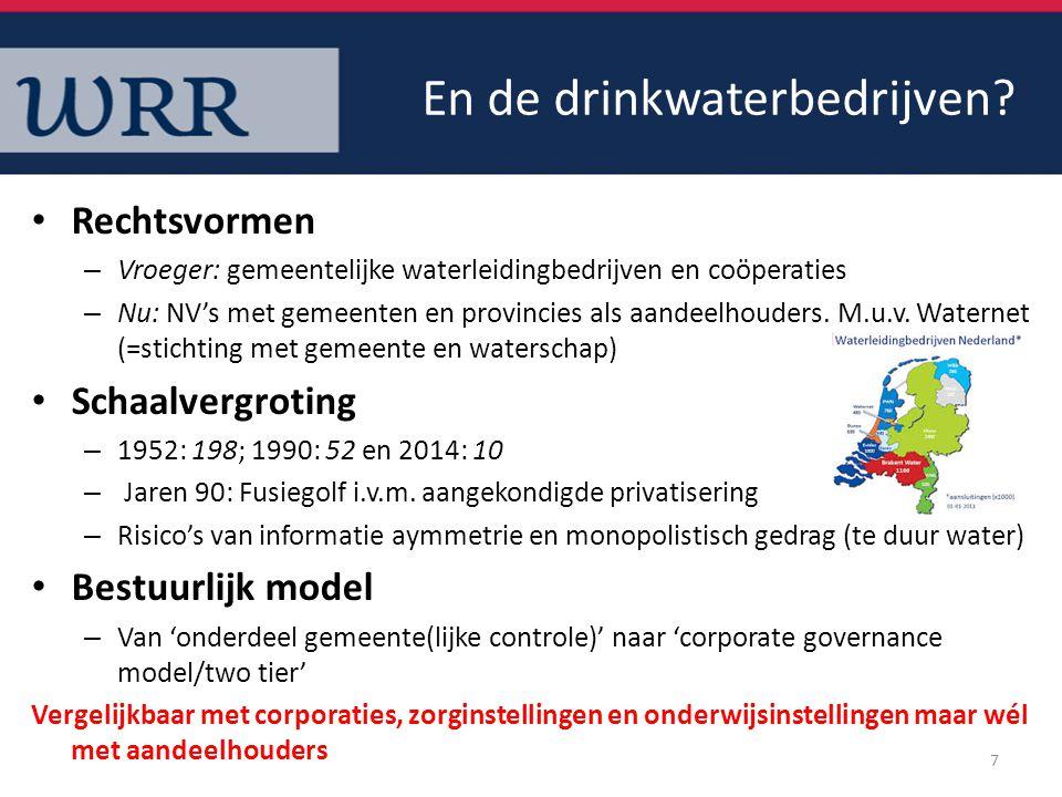En de drinkwaterbedrijven