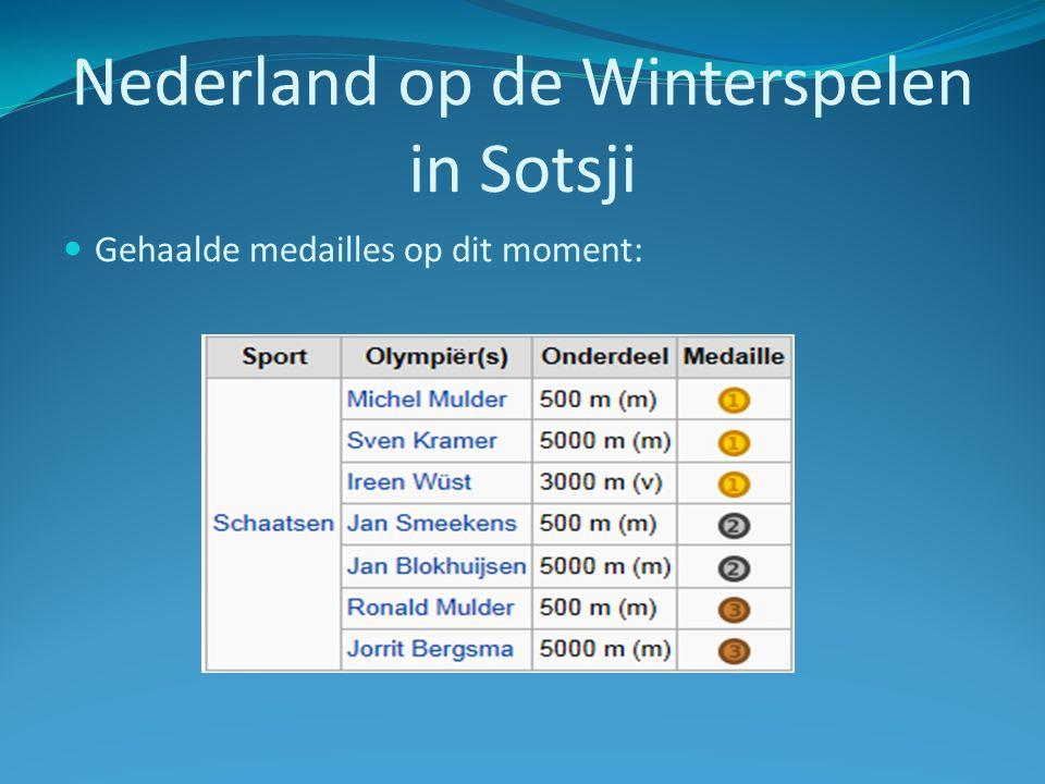 Nederland op de Winterspelen in Sotsji