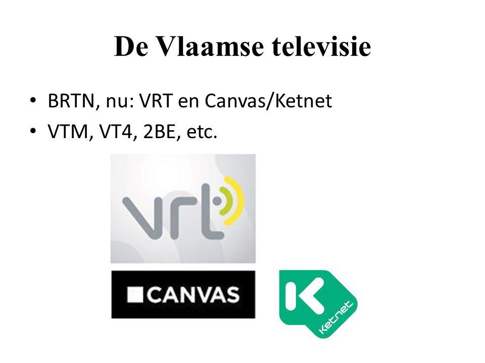 De Vlaamse televisie BRTN, nu: VRT en Canvas/Ketnet