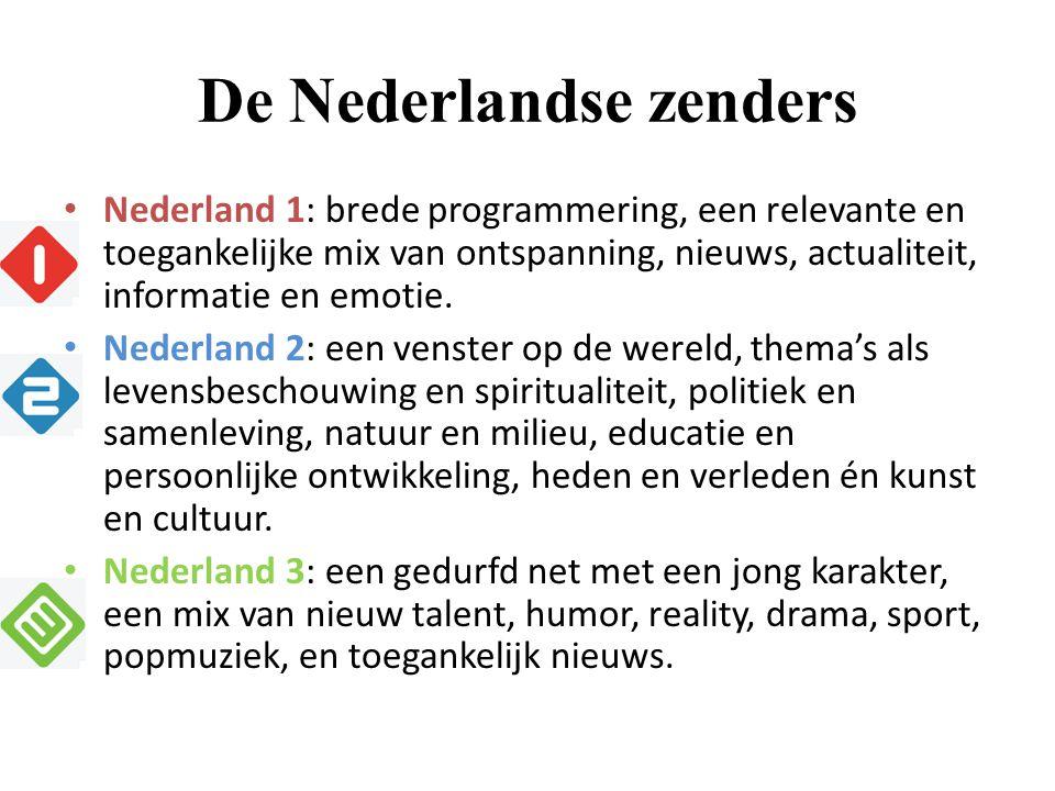 De Nederlandse zenders