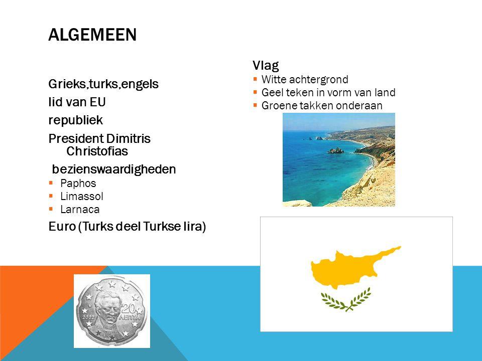 algemeen Vlag Grieks,turks,engels lid van EU republiek