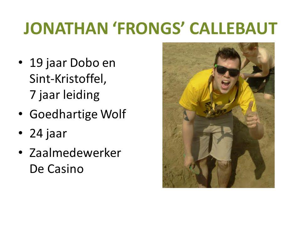 JONATHAN 'FRONGS' CALLEBAUT
