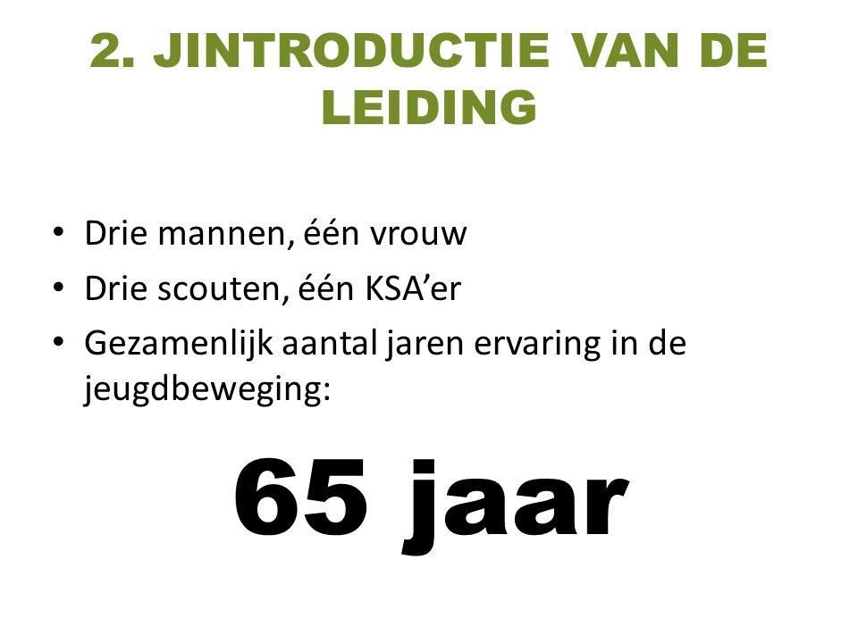 2. JINTRODUCTIE VAN DE LEIDING
