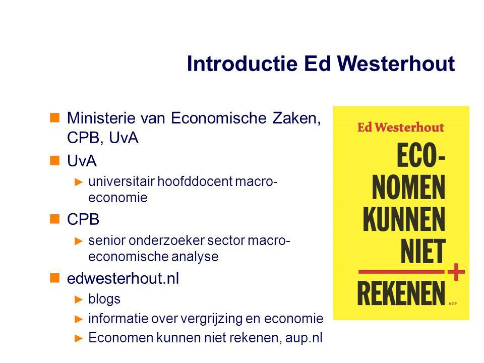 Introductie Ed Westerhout