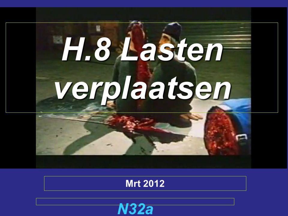 H.8 Lasten verplaatsen Mrt 2012 N32a