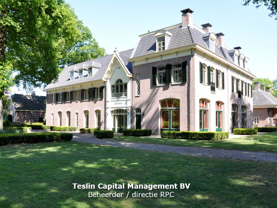Teslin Capital Management BV
