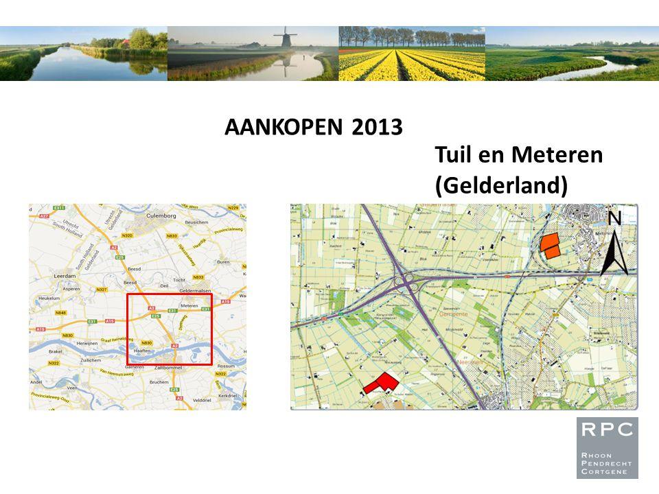 AANKOPEN 2013 Tuil en Meteren (Gelderland)